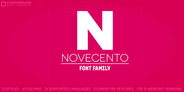 Preview of Novacento