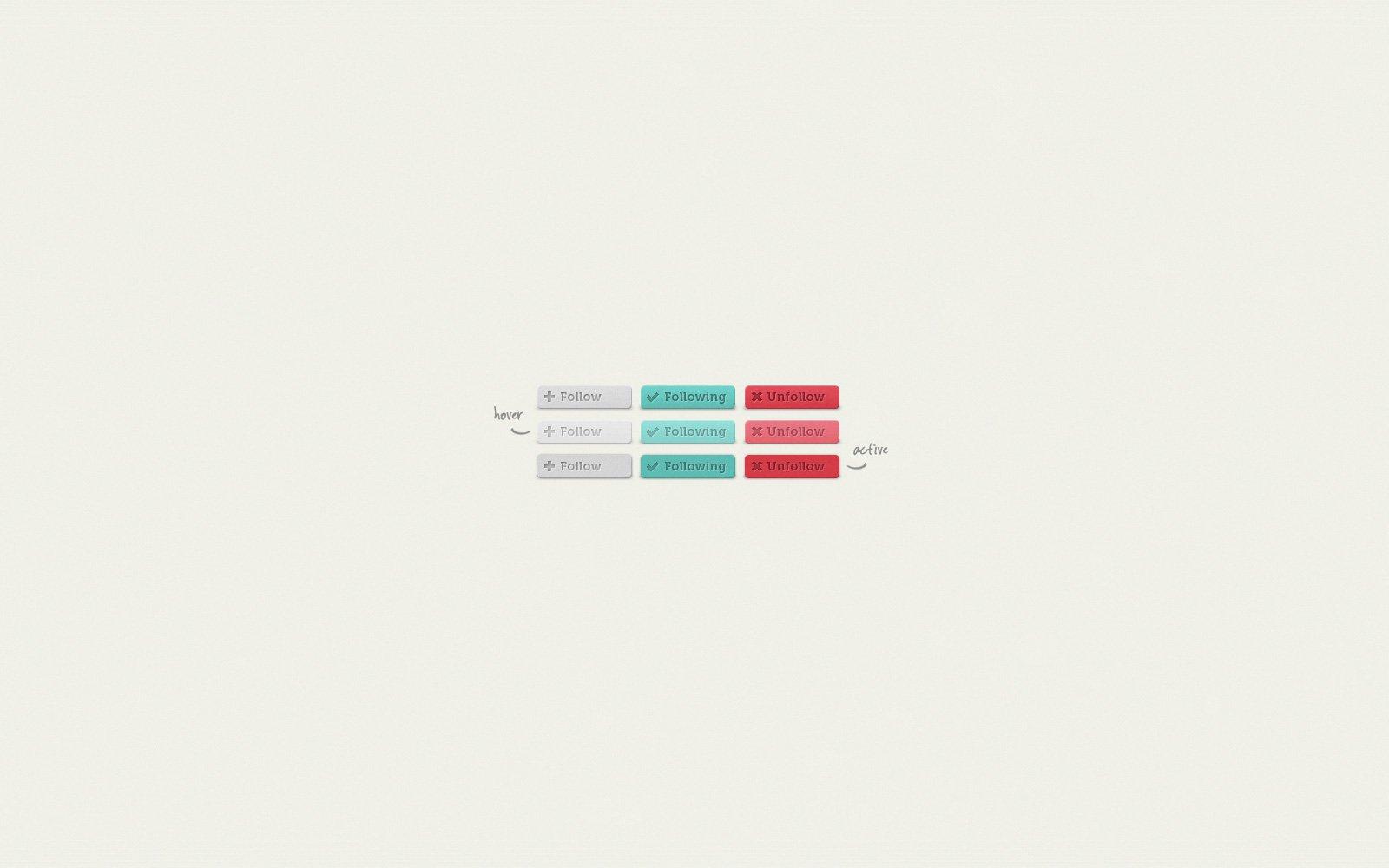 UI Element: Follow Buttons - Preview Image