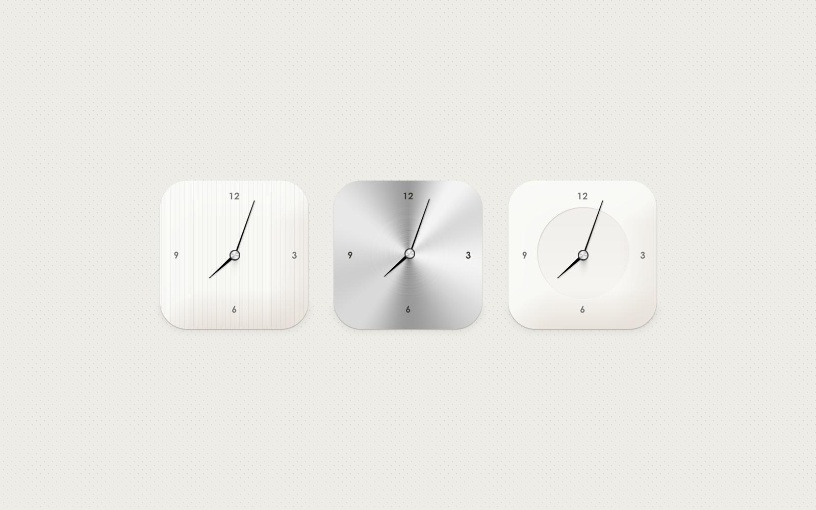 Mockup: Minimal Modern Clock - Preview Image