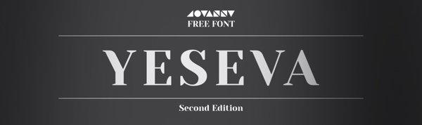 Preview of Yeseva Font