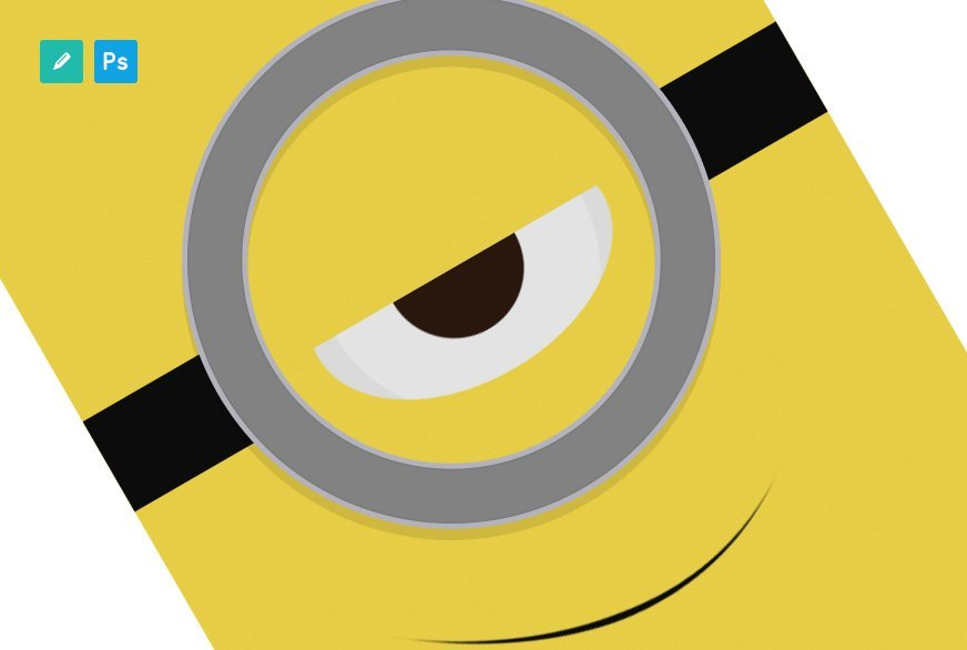 Tutorial: Despicable Me Poster - Featured Image