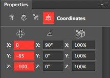 Element Coordinates
