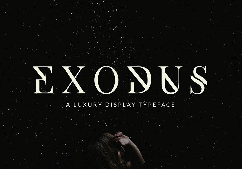 Exodus - Free Font