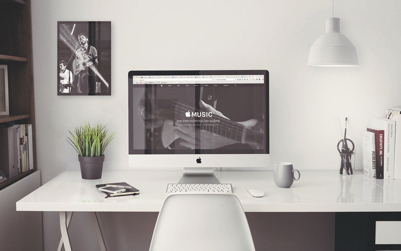 "Mockup: iMac 27"" Office - Preview Image 3"