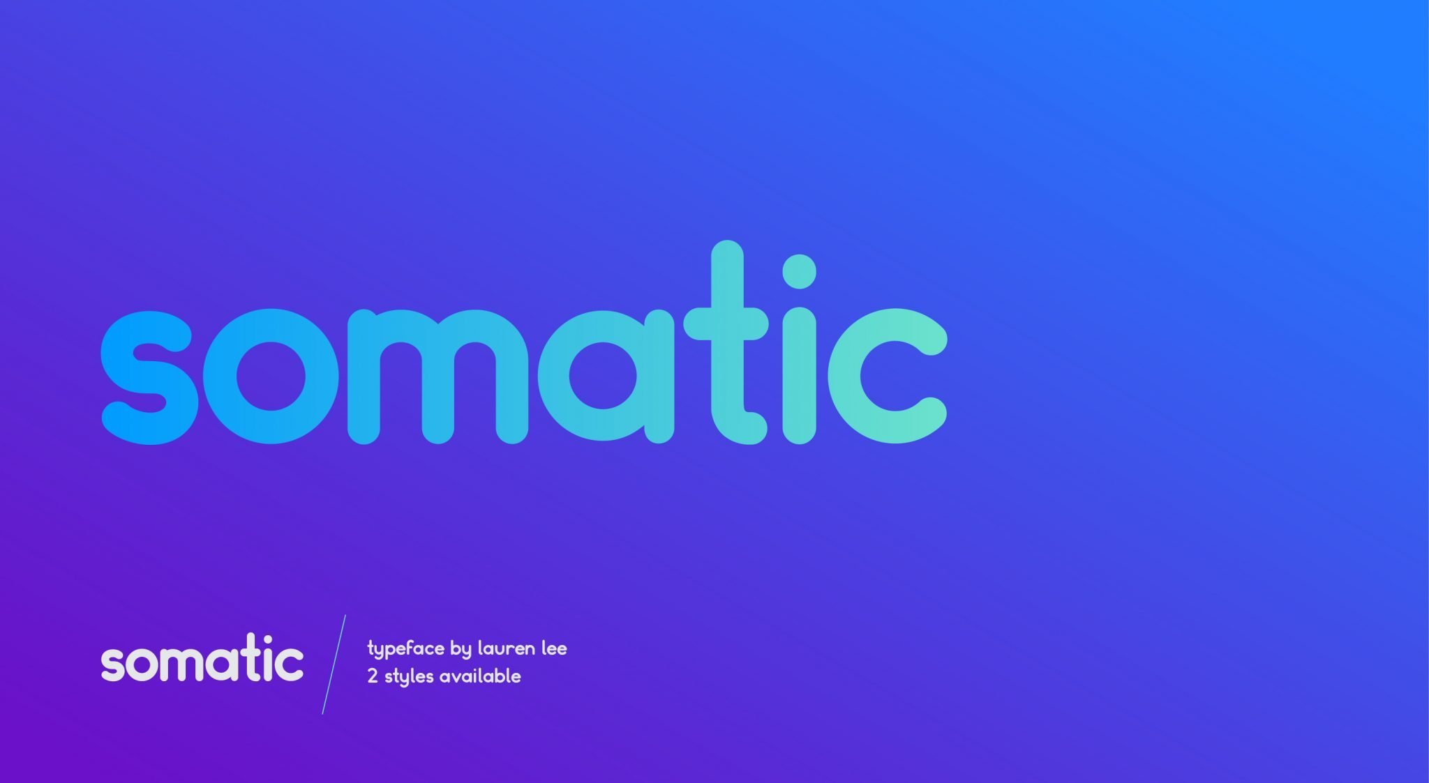 Preview of Somatic free font